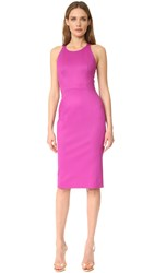 Zac Posen Sleeveless Dress Magenta