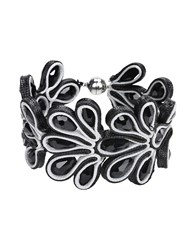 Jolie By Edward Spiers Bracelets Black