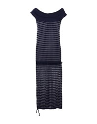 Tricot Chic 3 4 Length Dresses Dark Blue