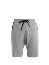 P.E Nation Bolter Contrasting Trim Wool Shorts Grey Multi