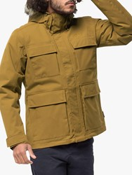 Jack Wolfskin Point Barrow 'S Waterproof Jacket Golden Amber