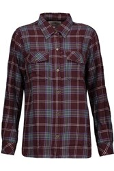 Current Elliott The Perfect Plaid Cotton Shirt Multi