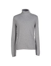 Emporio Armani Ea7 Knitwear Turtlenecks Men Grey