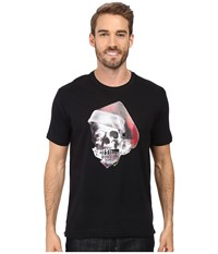 Robert Graham Santa Skull T Shirt Black Men's T Shirt
