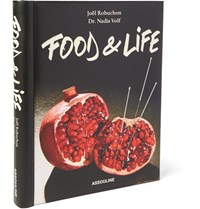 Assouline Food And Life Hardcover Book Black