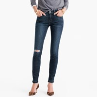 J.Crew Tall Toothpick Jean In Point Lake Wash