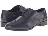 Cole Haan Jagger Wingtip Oxford Blazer Blue Women's Lace Up Wing Tip Shoes