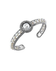 Effy Final Call 10 4Mm White Pearl And Sterling Silver Bracelet