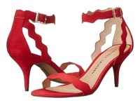 Chinese Laundry Rubie Scalloped Sandal Red High Heels