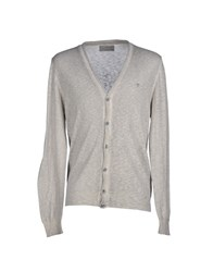 Fifty Four Knitwear Cardigans Men Light Grey