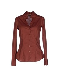 Silvian Heach Shirts Shirts Women Brown