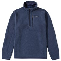 Patagonia Better Sweater 1 4 Zip Jacket Blue