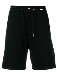 Givenchy Vertical Logo Bermuda Shorts Black