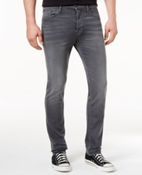 Hudson Jeans Men's Sartor Slouchy Skinny Fit Power Lines