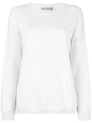 Vince 'Crew Neck' Sweatshirt White