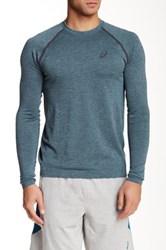 Asics Seamless Long Sleeve Tee Green