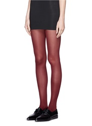 Happy Socks Contrast Back Seam Tights Red