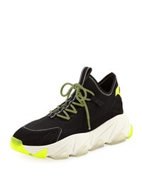 Ash Excape Lace Up Sock Sneakers Black