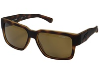 Arnette Supplier Fuzzy Havana Brown Polarized Sport Sunglasses