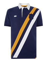 Canterbury Of New Zealand Sash Rugby Polo Navy