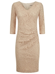 Planet Lace Dress Oyster