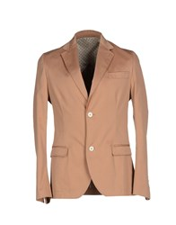 Maestrami Suits And Jackets Blazers Men Camel