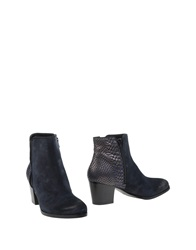 Jeannot Ankle Boots Dark Blue