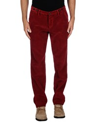 Class Roberto Cavalli Trousers Casual Trousers Men Maroon