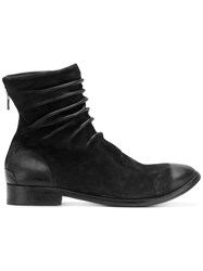 The Last Conspiracy Slouch Detail Ankle Boots Black