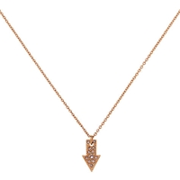 Cachet London Rose Gold Plated Direction Pendant Rose Gold