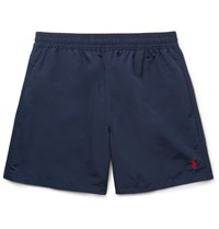 Polo Ralph Lauren Hawaiian Mid Length Swim Shorts Navy