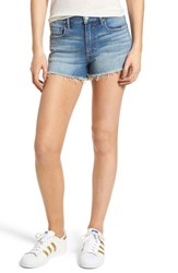 Vigoss Jagger Shadow Pocket Denim Shorts Light Wash