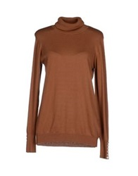 Vero Moda Turtlenecks Brown