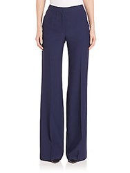 Akris Christa Wide Leg Trousers Aquamarine