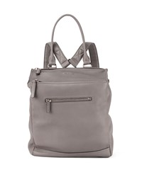 Pandora Calfskin Leather Backpack Pearl Gray Givenchy