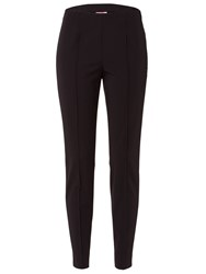 Basler Stretch Trousers With Creases Black