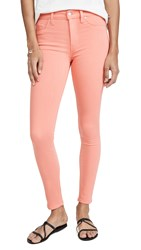 Hudson Barbara High Waist Super Skinny Jeans Flamingo