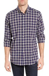 Barbour Men's Warren Tailored Fit Plaid Sport Shirt