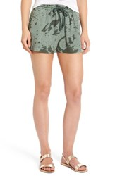 Obey Women's Charlie Shorts Sage Multi