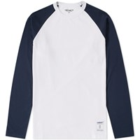Carhartt Long Sleeve Dodgers Tee White