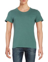 Strellson Cotton Tee Pastel Green