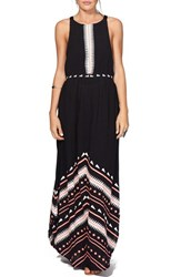 Women's Rip Curl 'Electric Beach' Open Back Maxi Dress