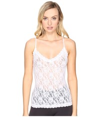 Hanky Panky Signature Lace V Front Cami White Women's Pajama