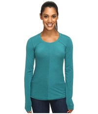 Marmot Molly Long Sleeve Everglade Women's Long Sleeve Pullover Green
