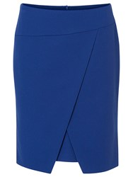 Betty Barclay Wrapped Pencil Skirt Blue