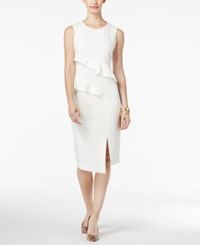 Thalia Sodi Ruffled Sheath Dress Only At Macy's Cloud