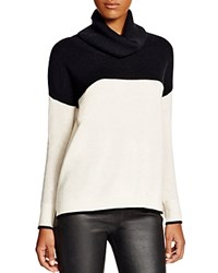C By Bloomingdale's Color Block Cashmere Sweater