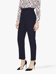 8bda1b0e3e Damsel In A Dress Isabella Straight City Suit Trousers Navy