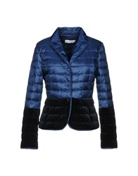 Caractere Synthetic Down Jackets Dark Blue