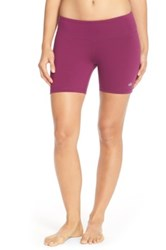 Alo Yoga 'Burn' Shorts Purple